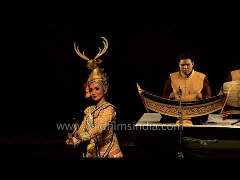 Khon, The Masked Dance-drama Of The Ramakien, Thailand    Part 1