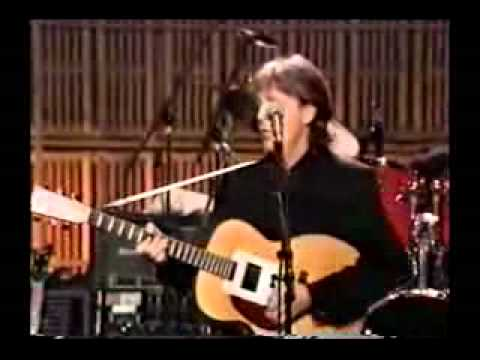 PAUL MCCARTNEY - CANT BUY ME LOVE (country version)