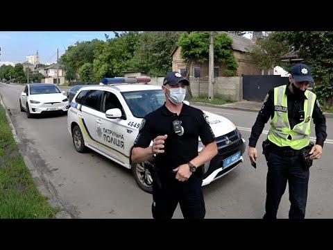 Встречка и Погоня за Tesla Полиция
