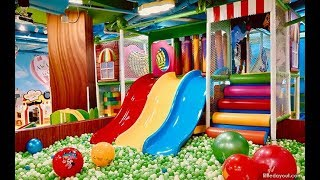 Indoor Playground Fun For Baby and Children with Children Song