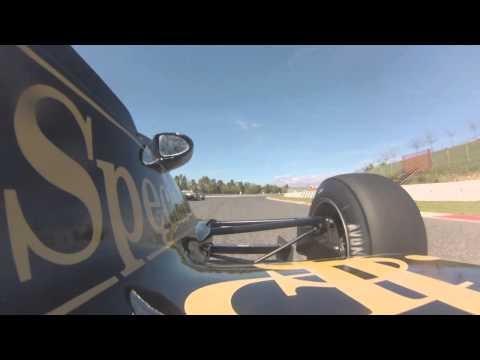 Lotus 91 Circuit de Barcelona Esperit de Montjuic 2014 Race 2