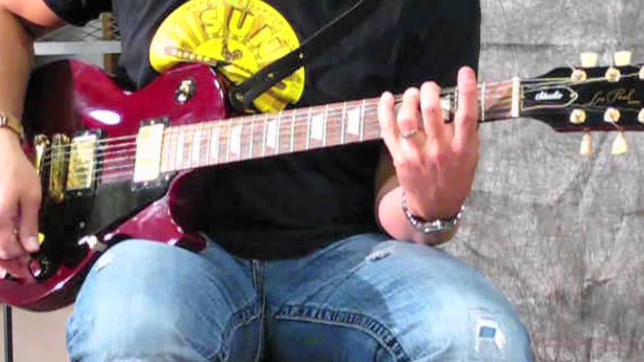 How To Play Aerosmiths Sweet Emotion On Guitar Lessons Of Classic