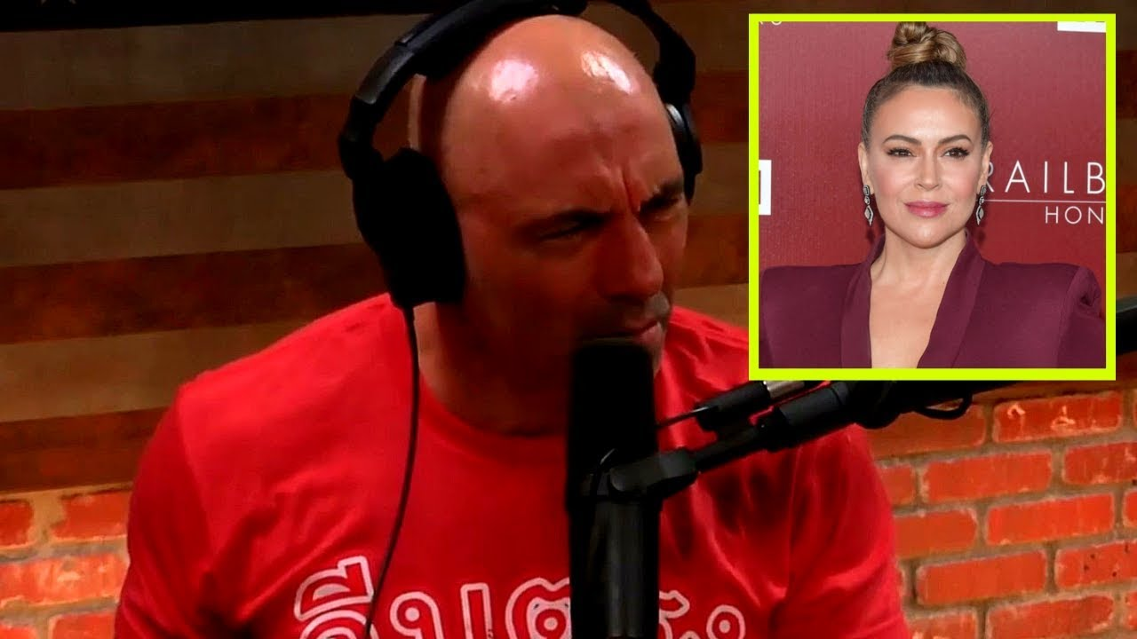 Alyssa Milano Rips Joe Rogan For Being More Popular Than She Is ...