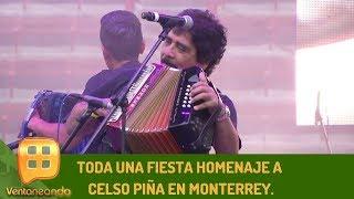 Toda una fiesta homenaje a Celso Piña en Monterrey.| Programa del 26 de agosto de 2019 | Ventaneando
