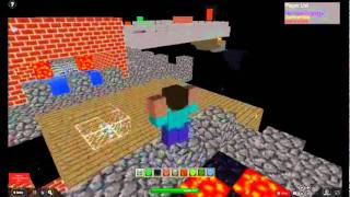 a game on roblox like mine craft