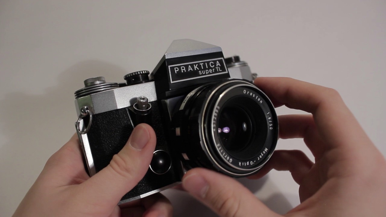 Thrift store finds: praktica super tl w meyer optik gorlitz 50mm f1