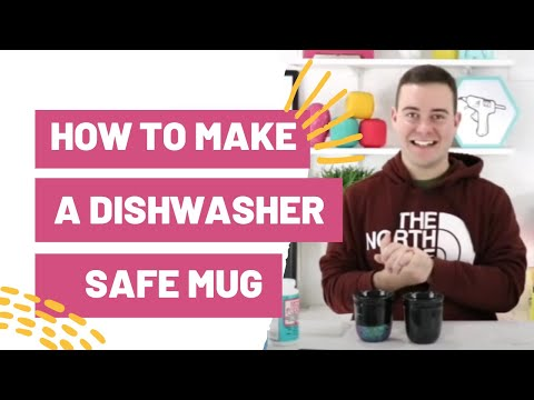 HOW TO MAKE A DISHWASHER SAFE MUG WITH CRICUT