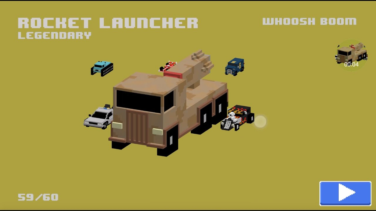 Rocket launcher new legendary smashy road wanted car youtube sciox Image collections
