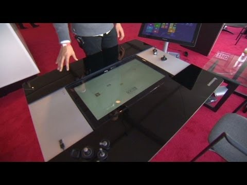 make your coffee table a tablet? - youtube