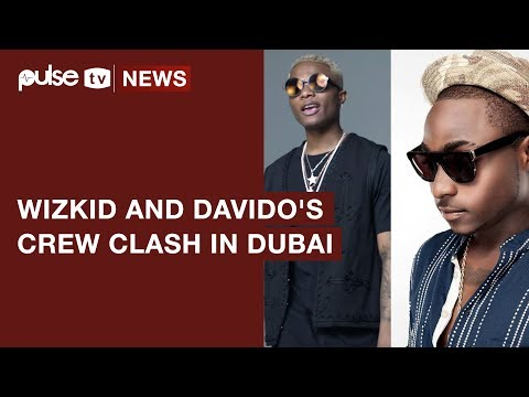 Wizkid and Davido Reportedly Clash in Dubai  and It's Ugly | Pulse TV News