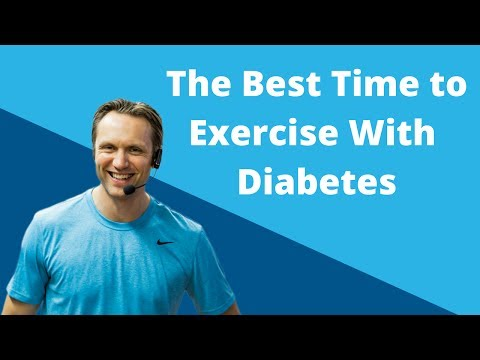 The Best Time to Exercise with Diabetes   Diabetes Talk