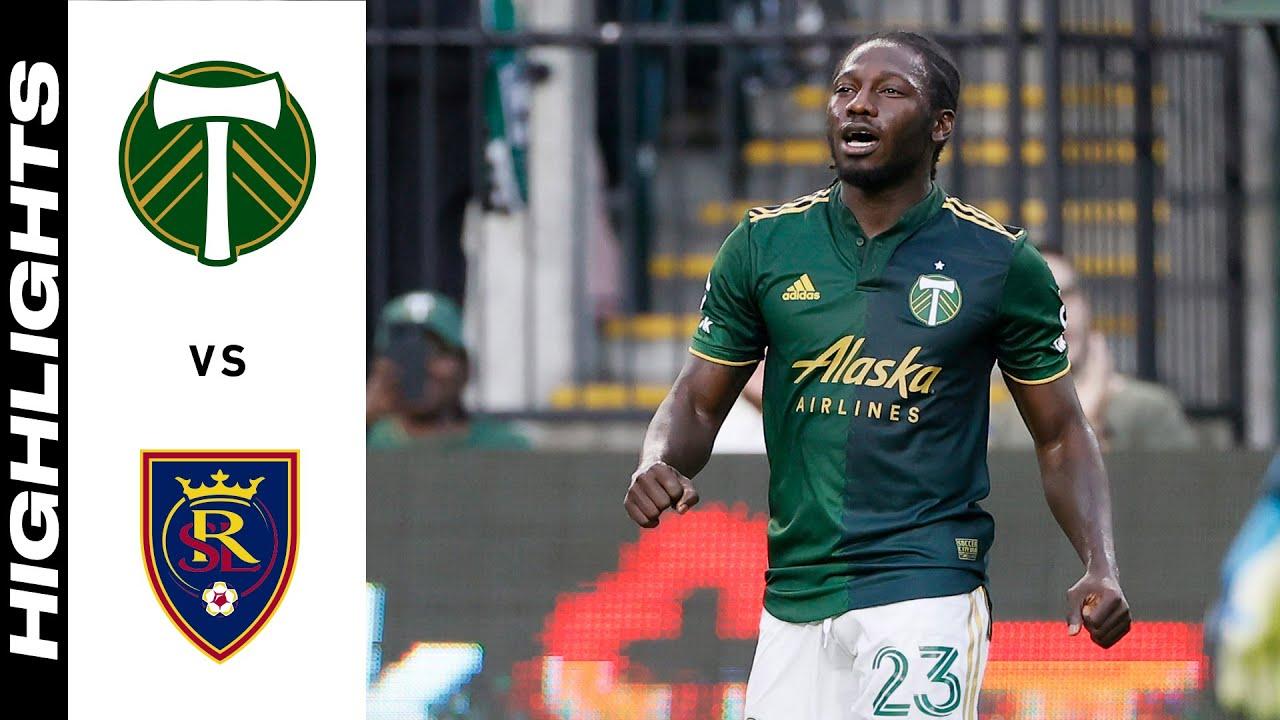 Download HIGHLIGHTS: Portland Timbers vs. Real Salt Lake   August 07, 2021