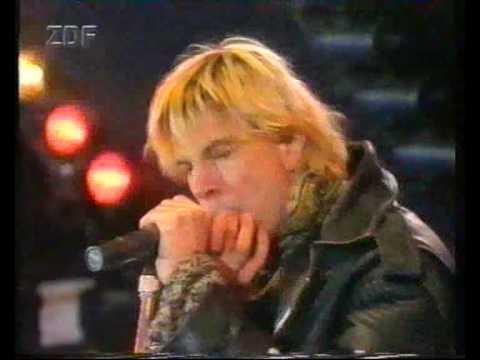 Die Toten Hosen Sascha Live in Frankfurt 1992 Rock gegen Rechts