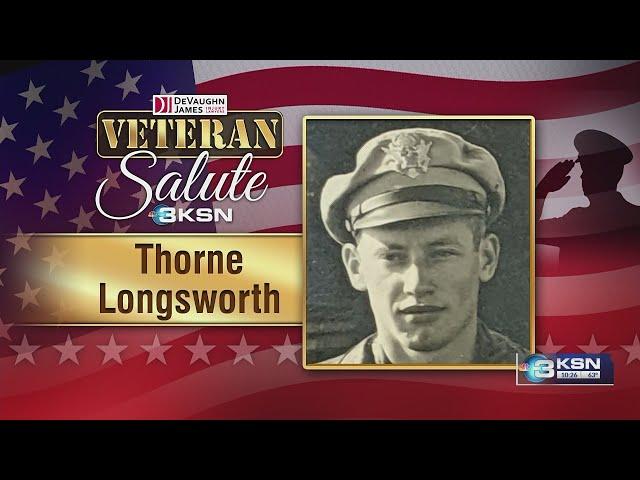 Veteran's Salute: Thorne Longsworth