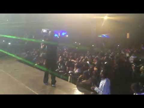 Wizkid performing Back to the Matter  at the Good Times Africa concert in Kenya