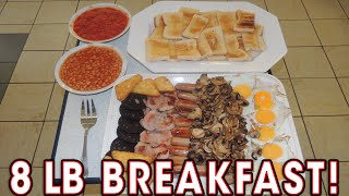 ENORMOUS English Breakfast 8lb Challenge at Bailey's Cafe!!
