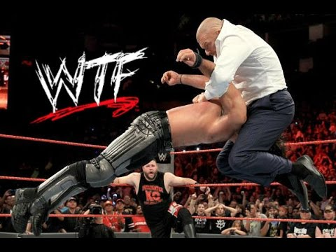 WTF Moments: WWE RAW (Aug 29, 2016)