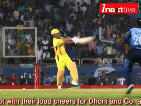 CL T20: Ranchi cheers for Dhoni and Co.