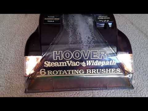 hoover steamvac upholstery attachment instructions