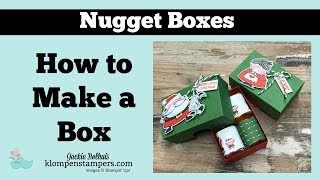 How to Make Candy boxes   Hershey Nuggets