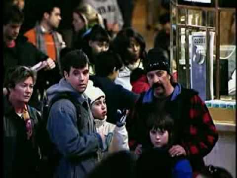 Флеш моб в нью-йоркском метро