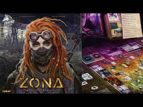 4-Настольная игра Зона: Секрет Чернобыля (Zona: The Secret Of Chernobyl). Прохождение 3