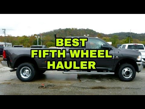 what 39 s the best used pickup for hauling a fifth wheel youtube. Black Bedroom Furniture Sets. Home Design Ideas