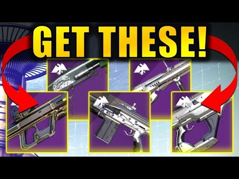 Destiny 2: The 5 BEST WEAPONS From Season Of Dawn!