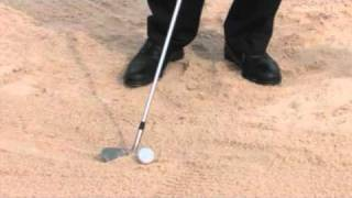 How to Correctly Hit a Green Side Bunker Shot