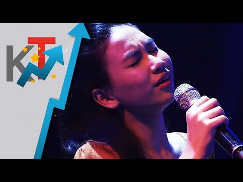 Daph Bonotano performs Two Less Lonely People In The World for her blind audition in The Voice Teens