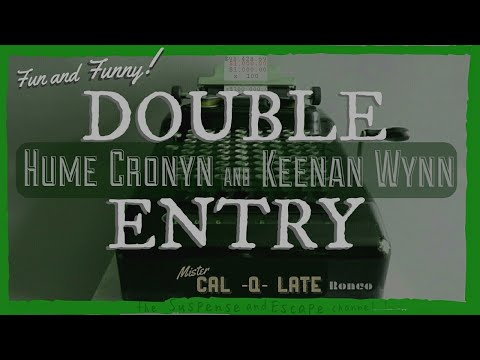 "HUME CRONYN & KEENAN WYNN ""Double Entry"" • Favorite Story • SUSPENSE Best Episode"