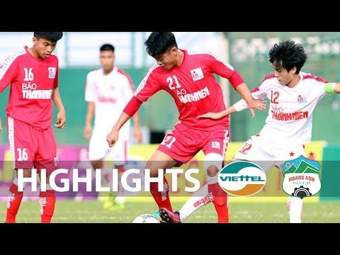 Thắng thuyết phục U21 Viettel | U21 HAGL lần đầu tiên vô địch giải U21 Quốc gia Báo Thanh Niên