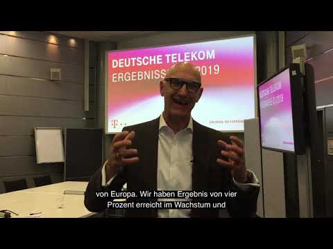 Social Media Post: Deutsche Telekom ist super ins Jahr 2019 gestartet.