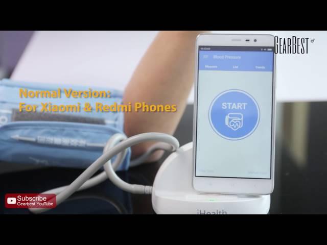 bad53dc997a Original Xiaomi iHealth Smart Blood Pressure Dock | Gearbest