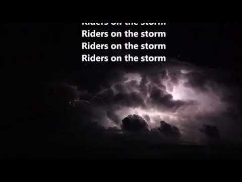 The Doors - Riders On The Storm - HQ - Scroll  Lyrics -