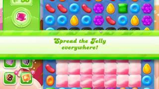 Candy Crush Jelly Saga Level 1115 (3 stars, No boosters)