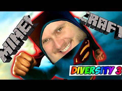 Я СТАЛ НОВЫМ СУПЕРМЕНОМ \\  Diversity 3 (Элитры + Выживание) #5