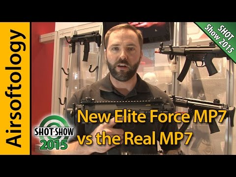 Real HK MP7 vs New VFC HK MP7 from Elite Force | So Close it's Scary! | Airsoftology
