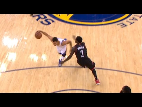Steph Curry Crossover On Beverley Then Hits Tough Layup!