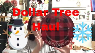Dollar Tree Haul || It's the Most Wonderful Time of the Year || October 22, 2019