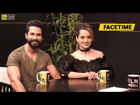 Shahid Kapoor & Kangana Ranaut Interview   Face Time Mp3