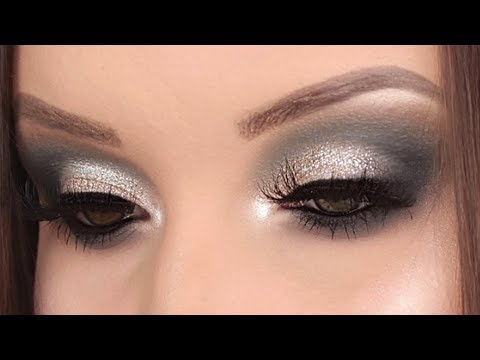 Soft glitter crease | Jaclyn Hill x Morphe palette makeup tutorial thumbnail