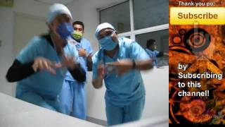 Funny Dancing Nursing Students