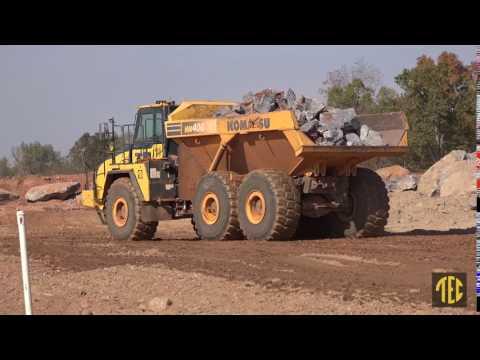 Tractor & Equipment Co. - Alexander Contracting Co. Inc.  - Komatsu HM400 Truck
