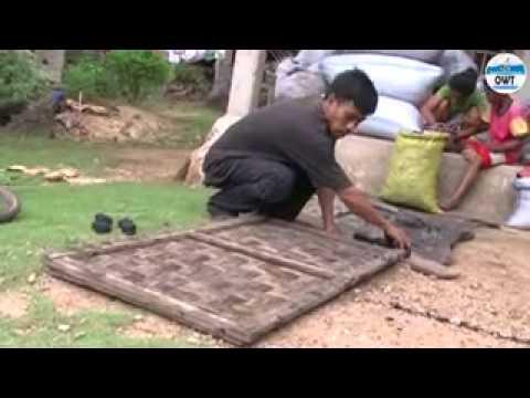 Arang Briket Batok Kelapa - YouTube