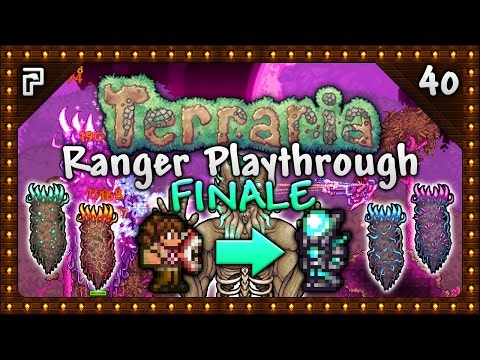 🌳 Terraria 1.3.5 Let's Play   Ranger Playthrough   Rory The Ranger's Final Battles! [Episode 40]