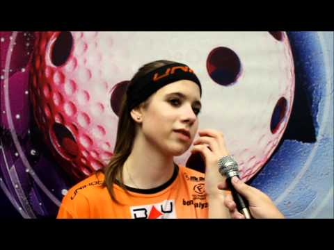 Champions Cup 2011, Day 3 : Czech Interview Barbora Sadkova (Herbadent SJM)