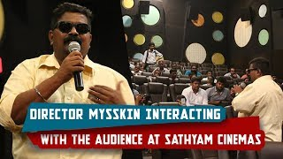 Thupparivaalan Director MYSSKIN Interacting with the Audience at Sathyam Cinemas