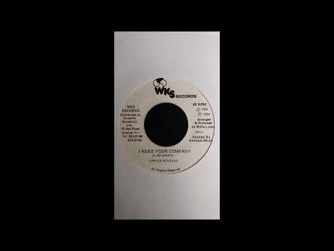 Linval Stanley - I Need Your Company / Version
