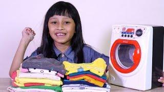 mesin cuci mainan berfaedah seperti betulan